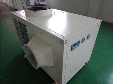 White Color Industrial Spot Coolers Temporary Cooling Units 18000W High Efficiency